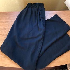 Japanese high waist ankle trouser